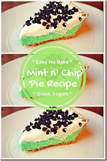 easy mint chip pie recipe no bake