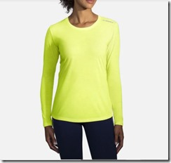 gifts for runners women long sleeve night life tee brooks