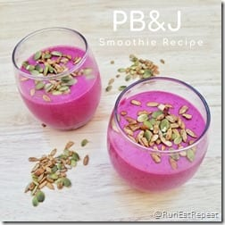 PB&J Smoothie Recipe