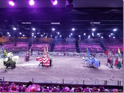 Medieval Times dinner show California theme park restuarant horses