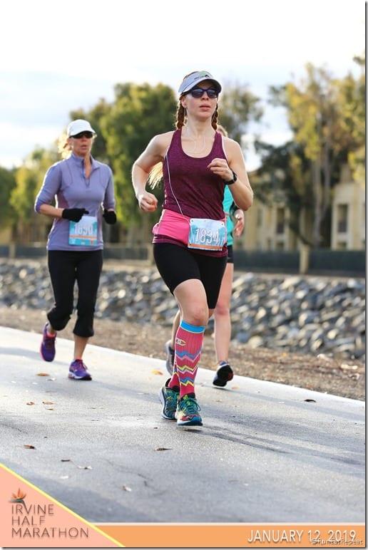 Irvine Half Marathon results race pictures