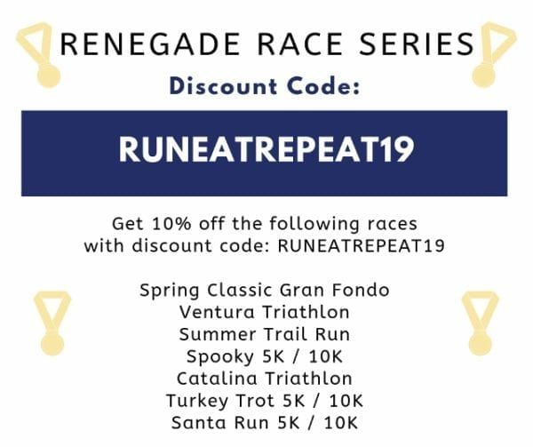 RENEGADE RACE SERIES Discount coupon code 2019