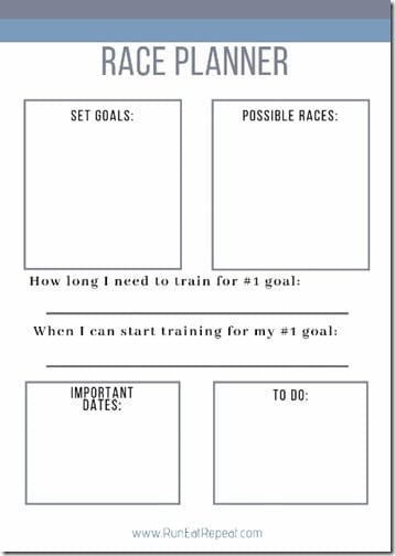 Race Planner printable runner calendar plan (453x640)