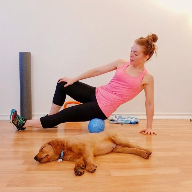 Foam rolling running tips