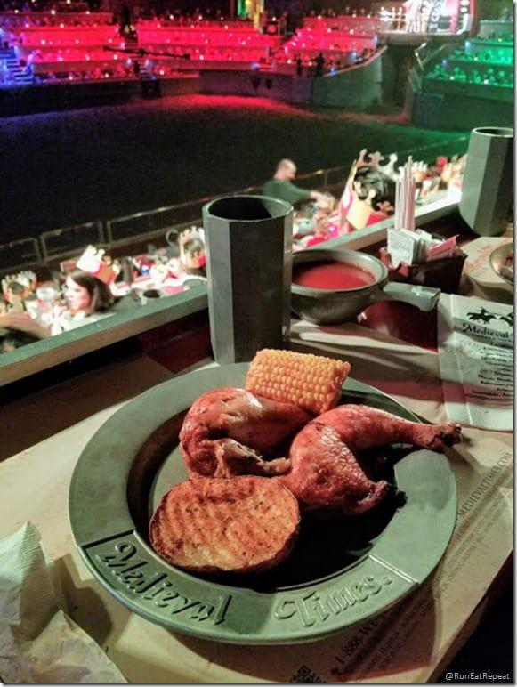 Medieval Times dinner show California theme park restuarant food