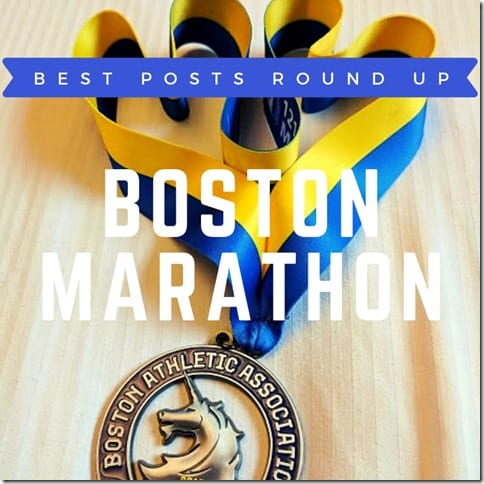 Boston Marathon tips recap travel information