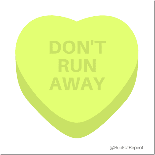 Don't Run Away IG Valentine