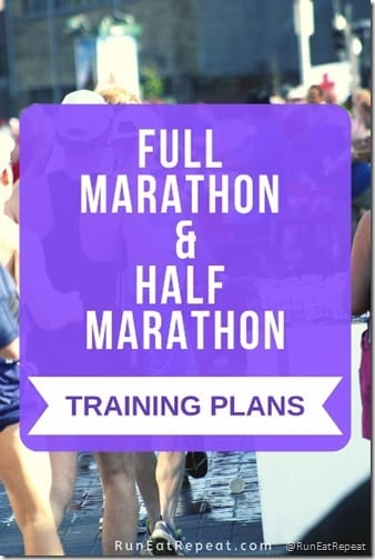 Marathon and Half Marathon Training plans intermediate run strength train (427x640)