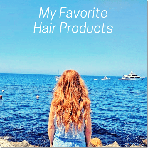 My favorite hair products red hair