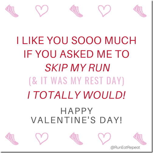 Skip my run IG Valentine for runners