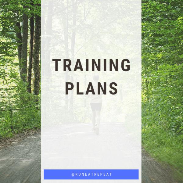 Training Plans - Run Eat Repeat
