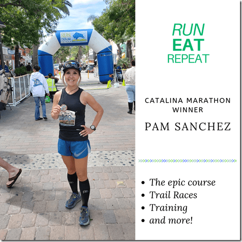 Catalina Marathon winner Pam Sanchez podcast interview (1)