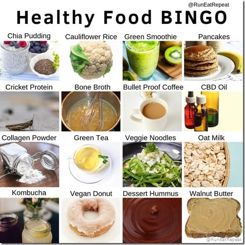 Healthy Foods Natural Products Expo Bingo