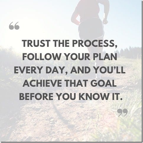 follow your plan every day to hit your running goal The Run Experience online training plans