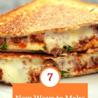 3-2-1 Grilled Cheese with Veggies