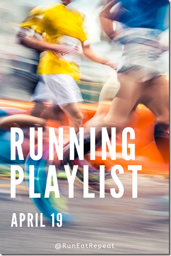 New Running Playlist April 19