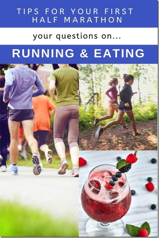 running eating q & a April 19