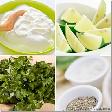 Cilantro Lime Crema for Tacos Recipe