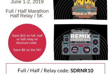 Race Discounts and Coupon Codes–RnR San Diego, Lexus Lace Up, Revel Marathon and more!