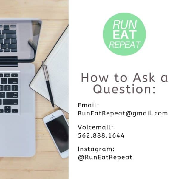 running podcast questions email