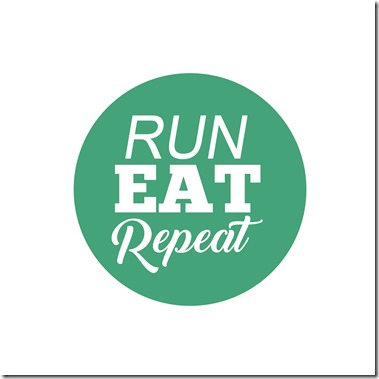 Esegui Eat Repeat pod logo