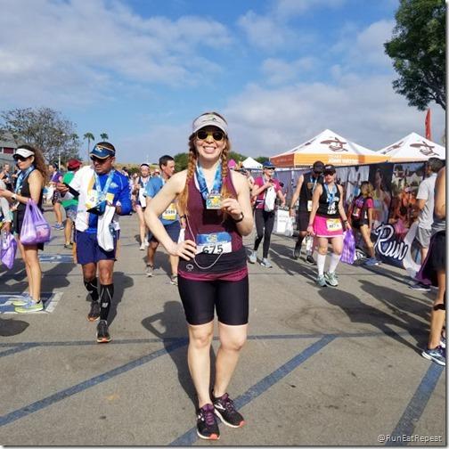 oc marathon half marathon results recap 2 hour finish