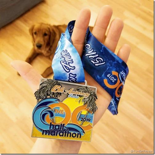 oc marathon half marathon results recap medal monday