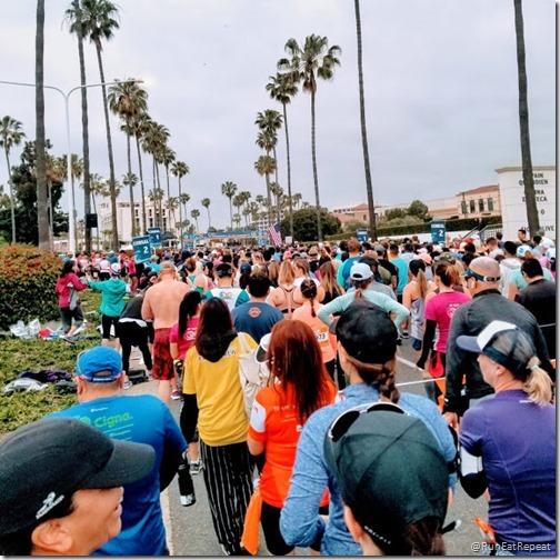 oc marathon half marathon results recap start line