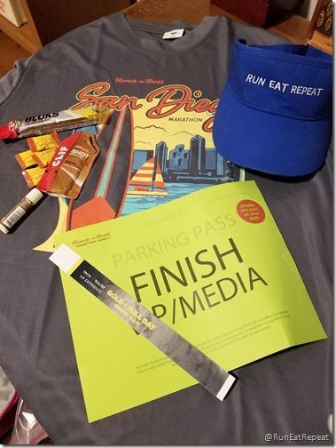 Rock N Roll San Diego Half Marathon results recap running blog vip