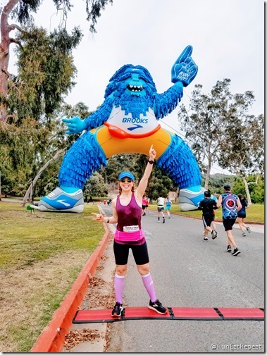 Rock N Roll San Diego Half Marathon results recap running blog course