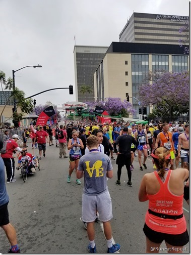 Rock N Roll San Diego Half Marathon results recap running blog finish