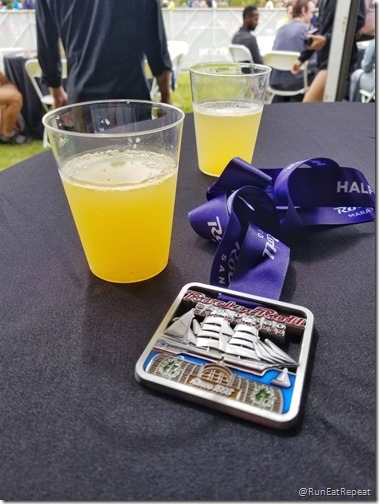 Rock N Roll San Diego Half Marathon results recap running blog medal