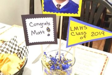 My lil Brother's High School Graduation Party and Great Mexican Food