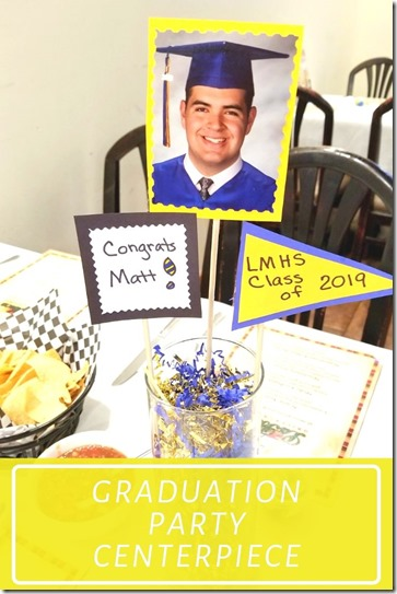 Graduation Party centerpiece idea (1)