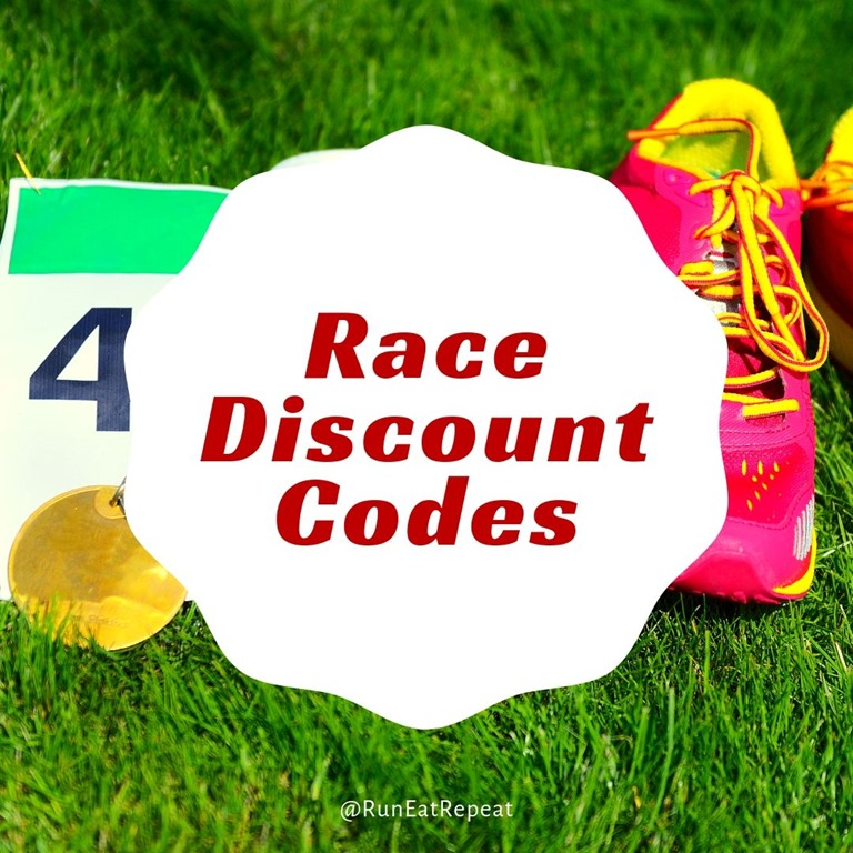 Half Marathon and Marathon Discount Coupon Codes