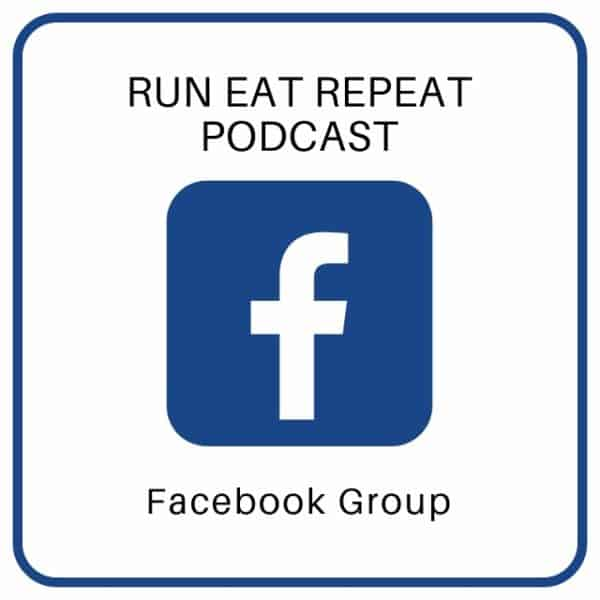 Run Eat Repeat podcast Facebook page