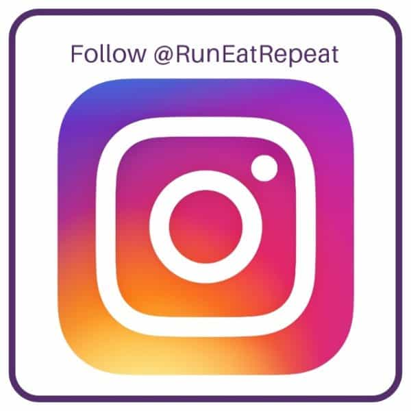 Run Eat Repeat instagram page follow