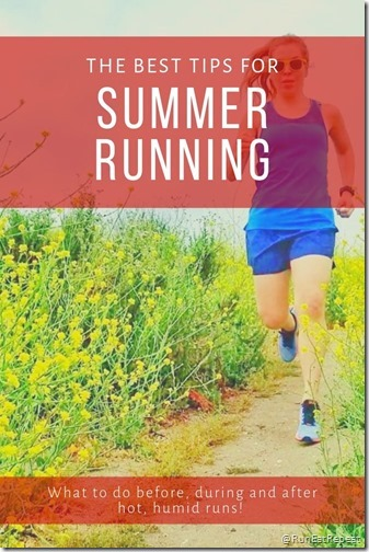 _Tips for running in the summer heat humidity