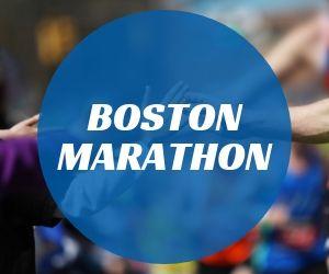 Boston Marathon Recap button