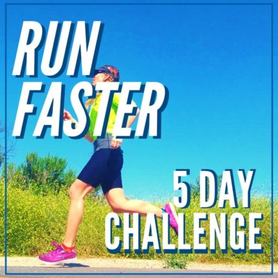 Run Faster 5 Day Challenge Announcement