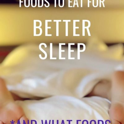 What to Eat for Better Sleep Podcast 113