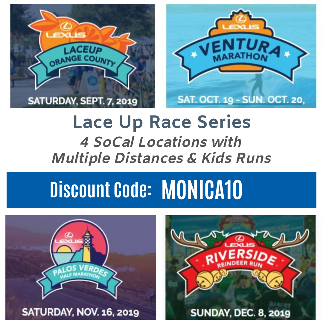 Lexus Lace Up Race Series Discount Code MONICA10