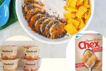 New Chobani Yogurt with Almond Butter & Cashew Butter