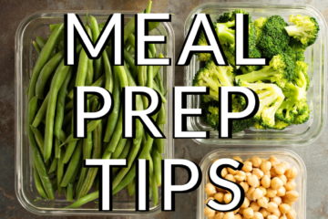 No Cook Meal Prep Tips