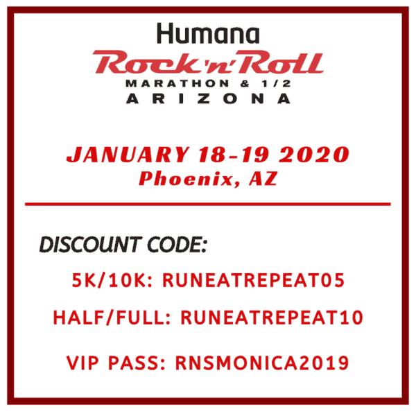 RnR Marathon Arizona Discount Code half 10k 5k