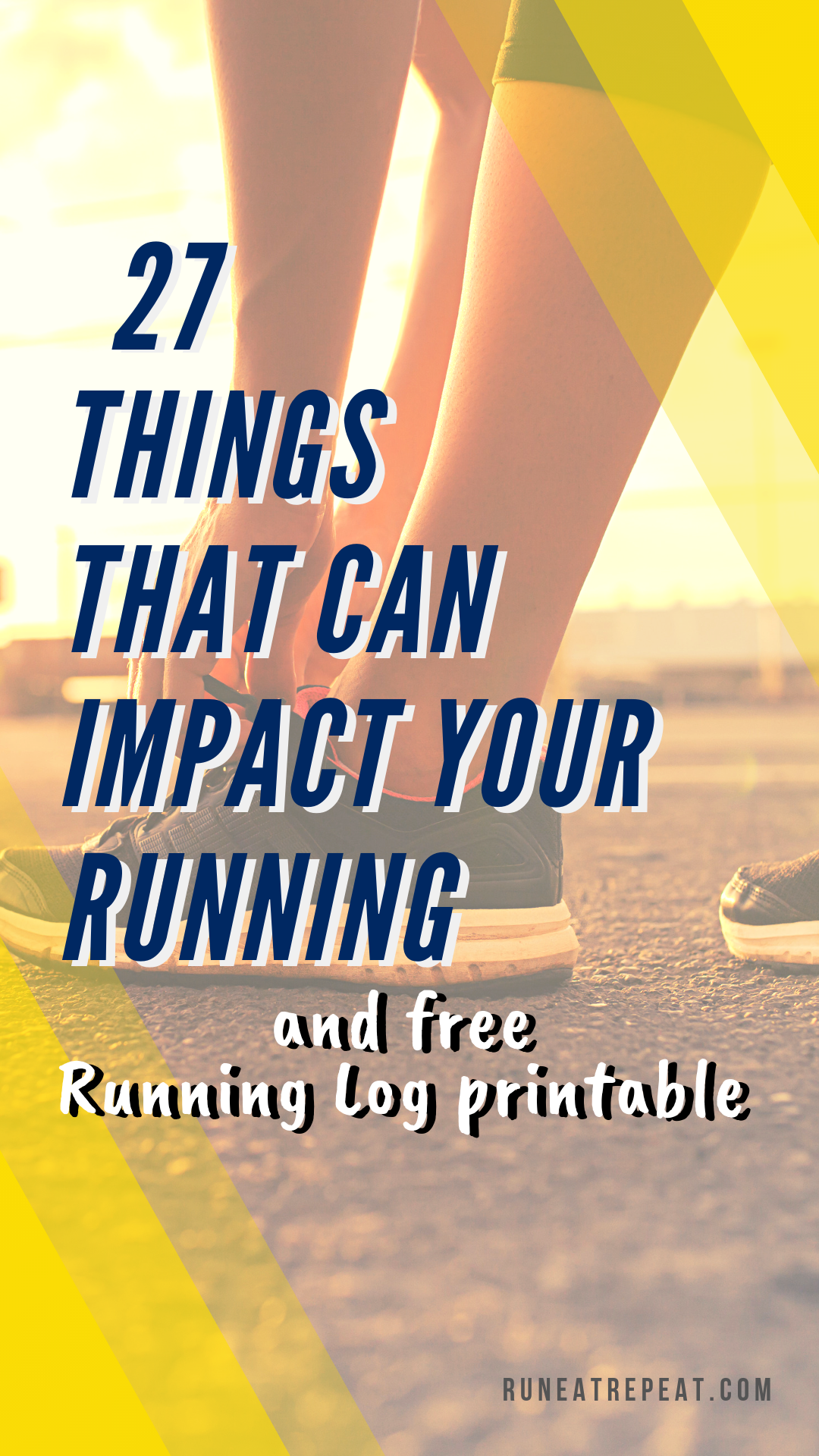 picture regarding Printable Running Log titled 27 Motives That Can Affect Your Working out and Cost-free Operating