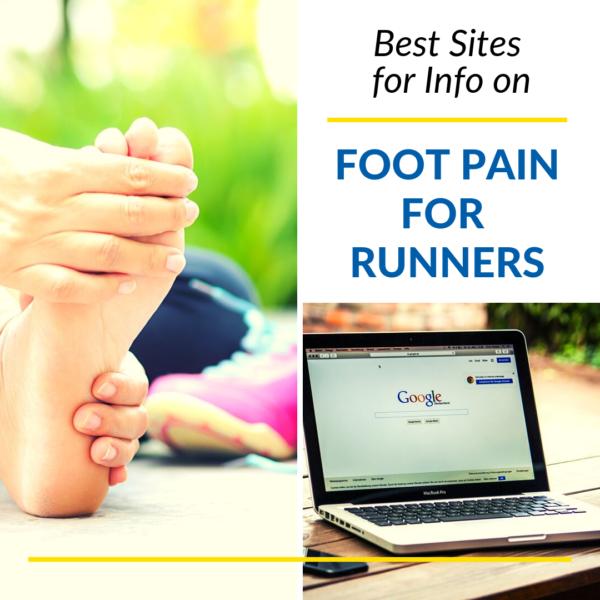 list of websites Runner Foot Pain tips
