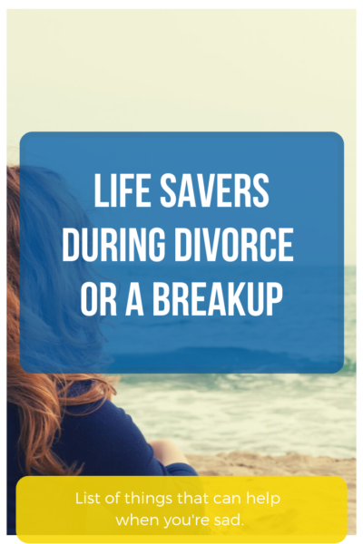 how to get through divorce