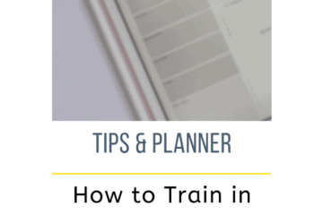Running Planner with Day and Weather free printable