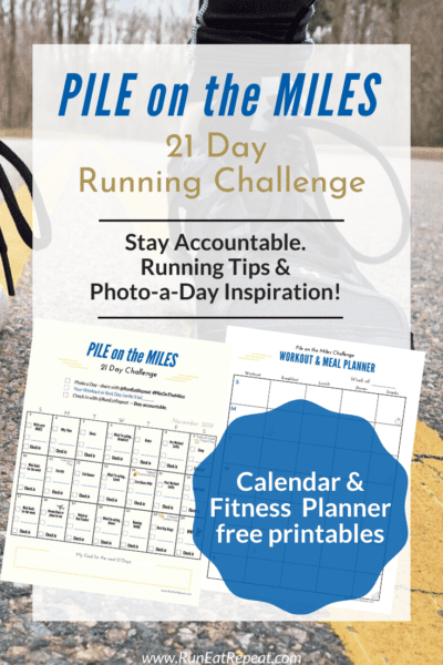21 day running challenge